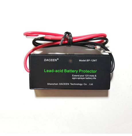 Battery protector (Desulfator, Reconditioner, Restorer) for 12V moto batteries